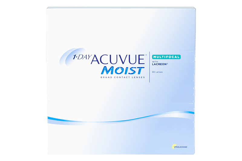 1-Day Acuvue Moist Multifocal 90 Pack