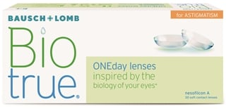 Biotrue ONEday for Astigmatism (30 pack)