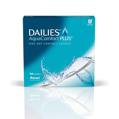 d57d235560 Dailies AquaComfort Plus 90 Pack Contact Lenses