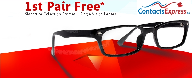 0b277617b74 Free Glasses Voucher Contacts in Canada --  0.00 USD or lower. No Tax.