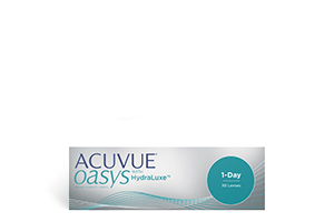 Acuvue Oasys 1-Day 30 Pack with HydraLuxe